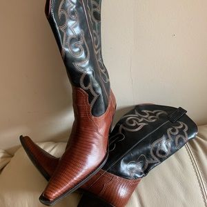 Shoes - Tall cowboy boots